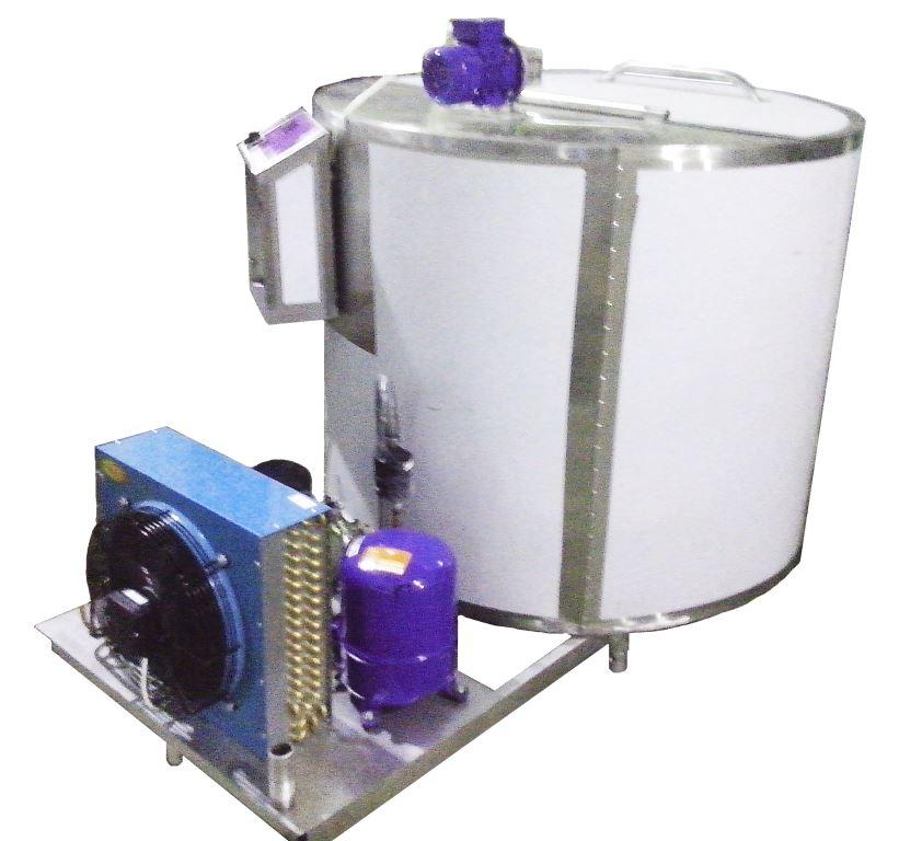 Охладители молока вертикального типа